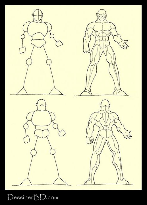 comment dessiner muscles anatomie ogre