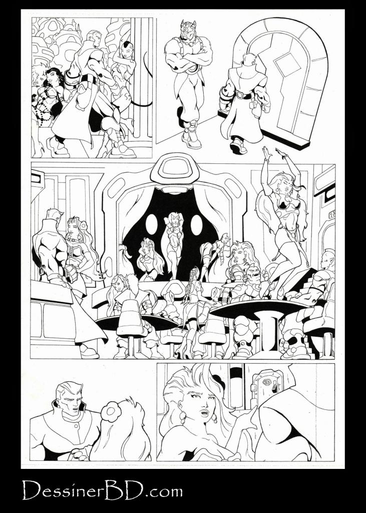 bande dessinée science-fiction page 2