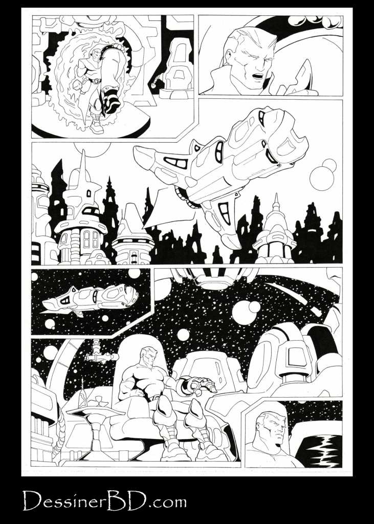 bande dessinée science-fiction page 6