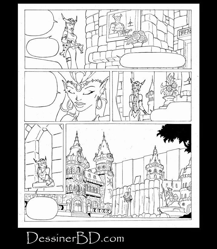 bande dessinee fantasy page 2