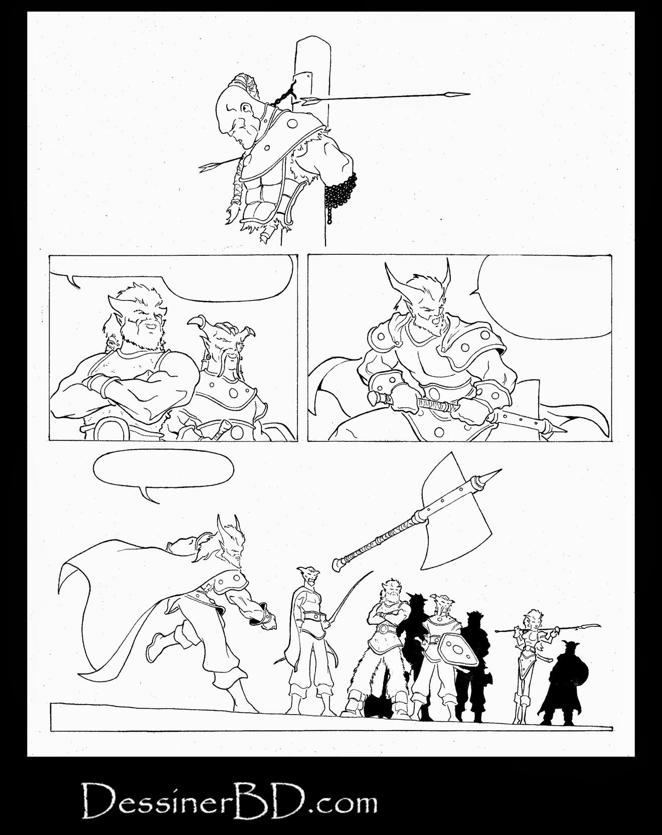 bande dessinee fantasy page 4