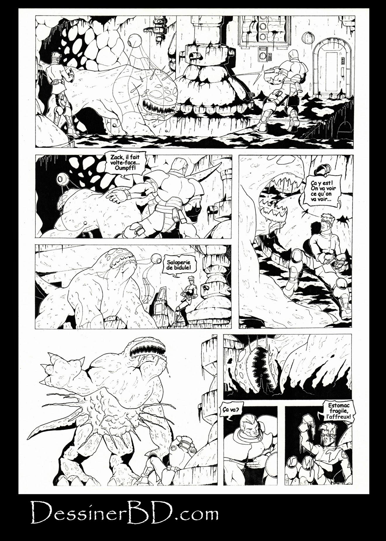 bande dessinée nécrocité page 4