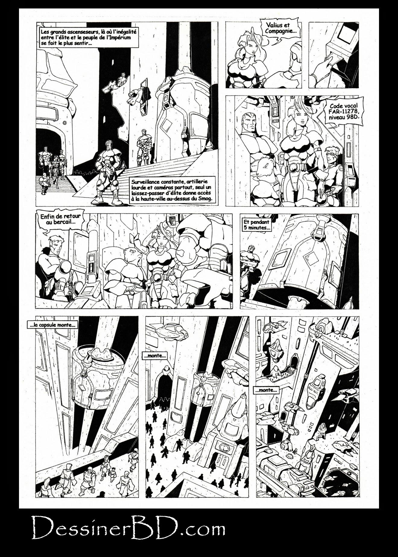 bande dessinée nécrocité page 6