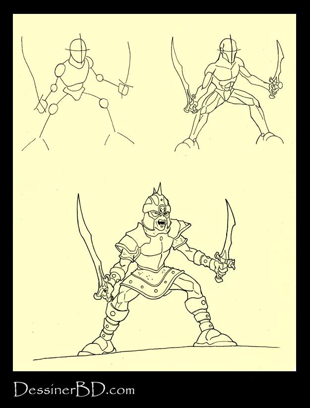 apprendre à dessiner un champion gobelin