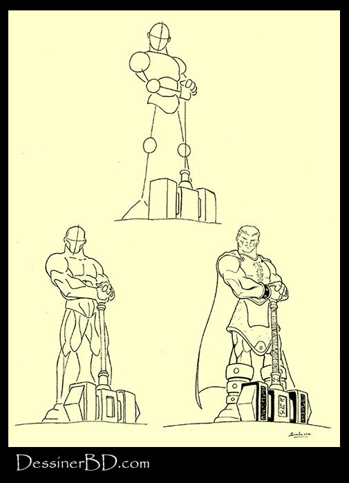 apprendre à dessiner un chevalier paladin