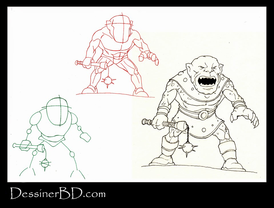 apprendre à dessiner un ogre des cavernes