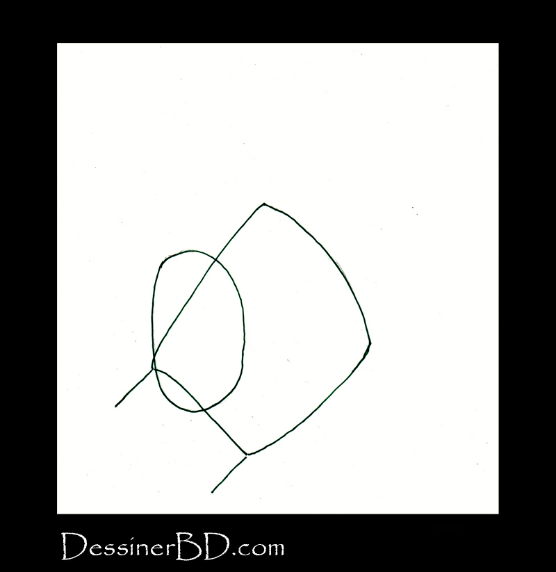 dessiner une main étape 1 la paume