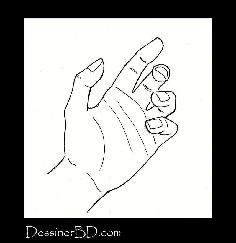 dessiner une main étape 4 final