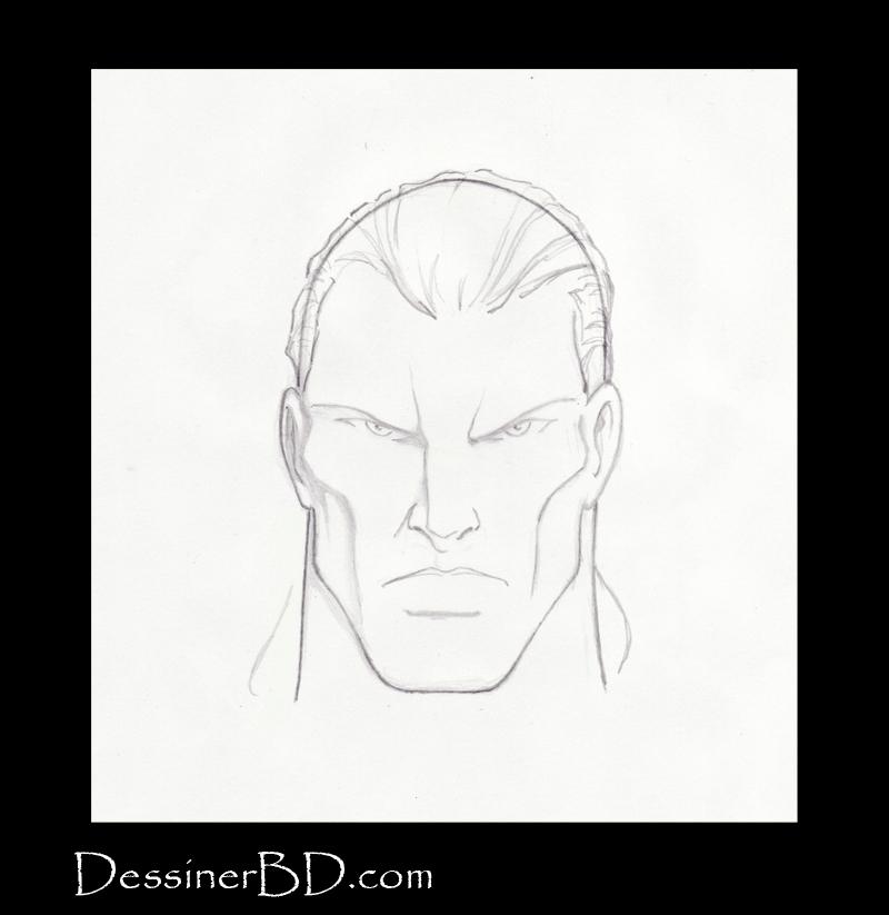 Étape 3 comment dessiner les cheveux en queue de cheval