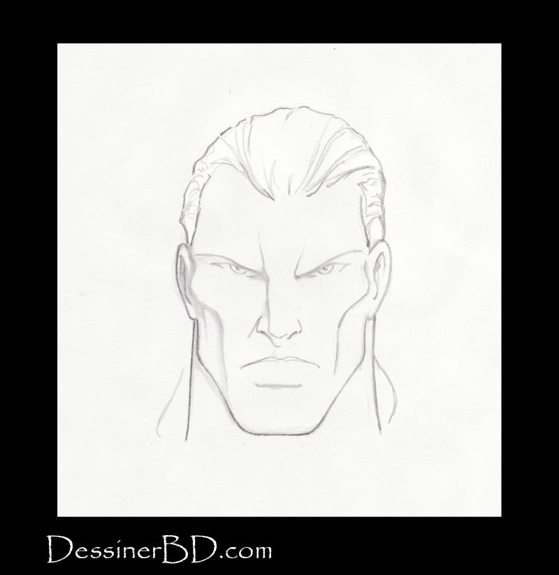 Étape 4 comment dessiner les cheveux en queue de cheval
