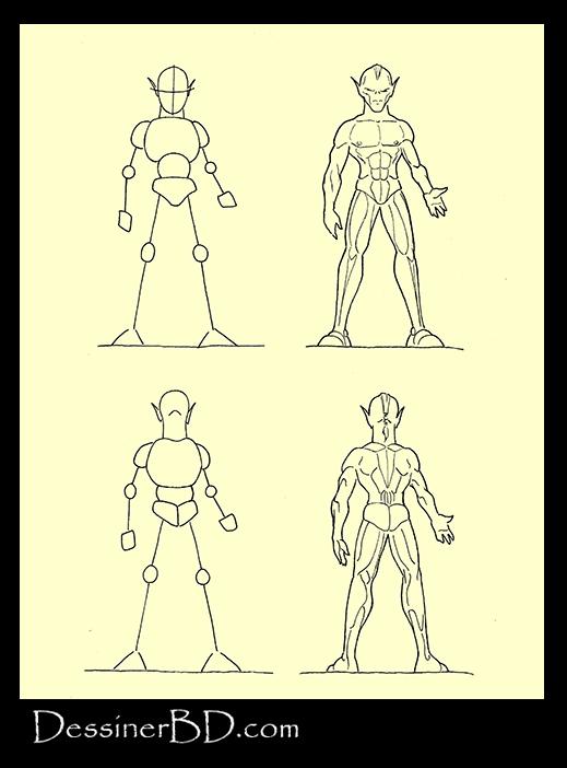 apprendre à dessiner anatomie gobeline