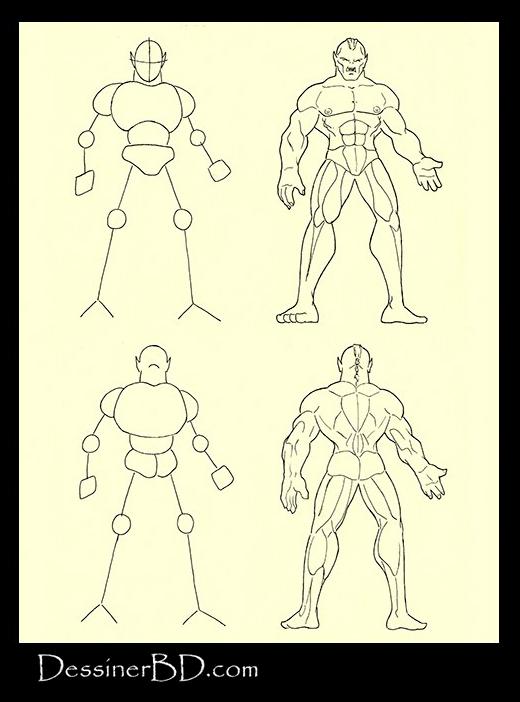 tutoriel de dessin fantasy anatomie orque