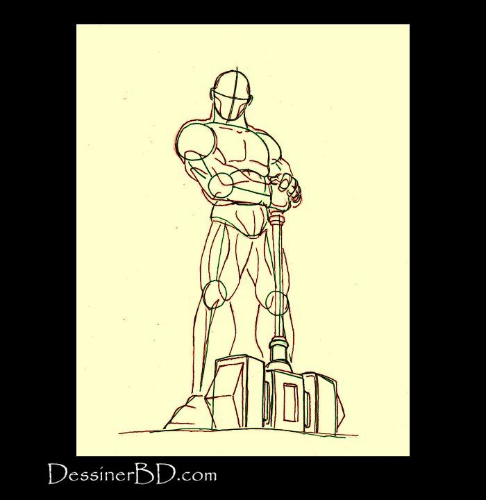 chevalier paladin anatomie