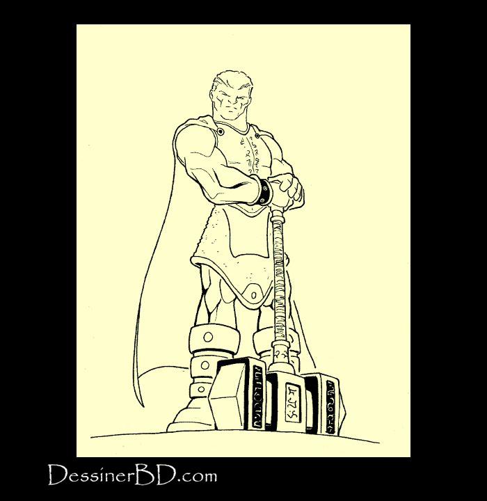 chevalier paladin dessin final