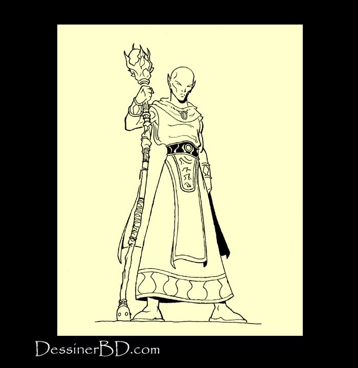 dessin final sorcier elfe