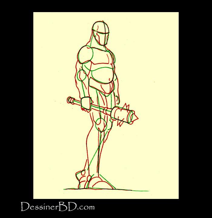 dessiner muscles ogre