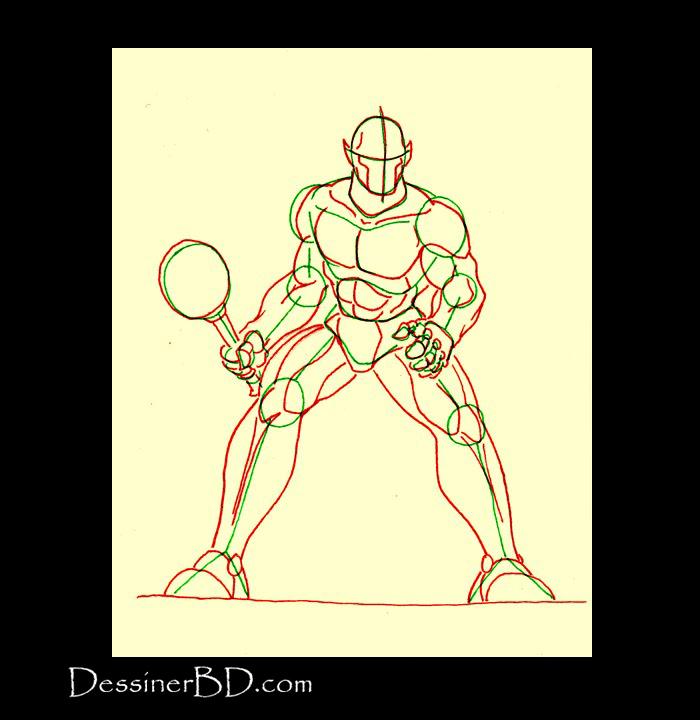 dessiner anatomie ogre