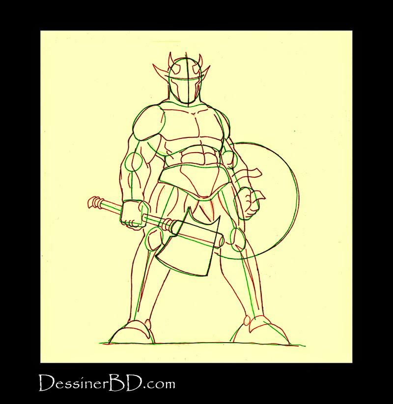 comment dessiner anatomie troll cornu