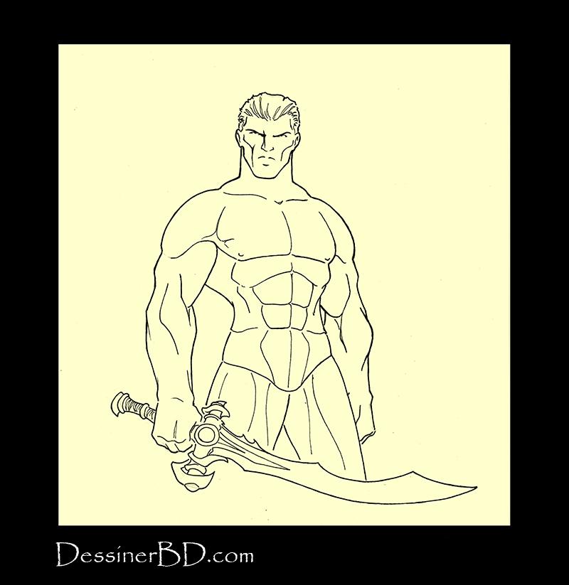 armure de cuir étape 1 corps humain