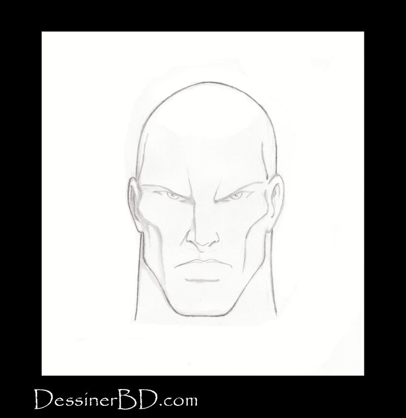 étape 1 comment dessiner des cheveux courts