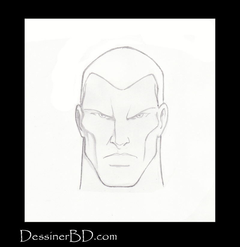 étape 4 comment dessiner des cheveux courts
