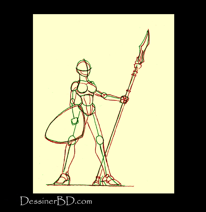 anatomie elfe lancière