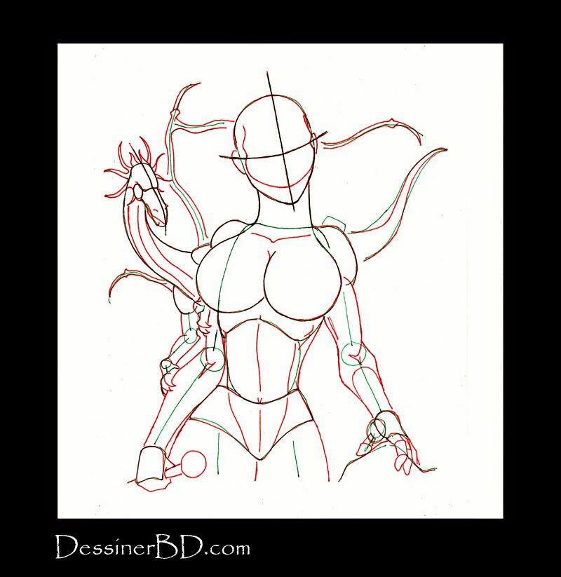 étape 2, anatomie magicienne