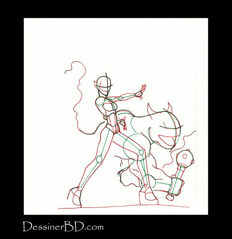 anatomie comment dessiner une invocatrice