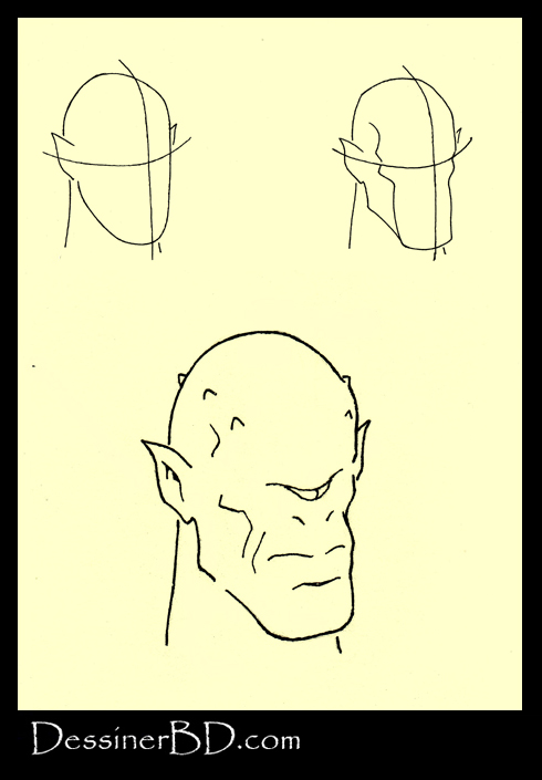 apprendre à dessiner un visage cyclope mythologie