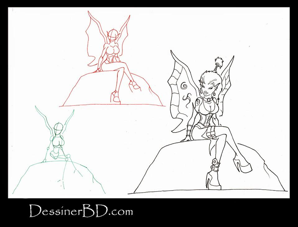 apprendre à dessiner une fée pixie