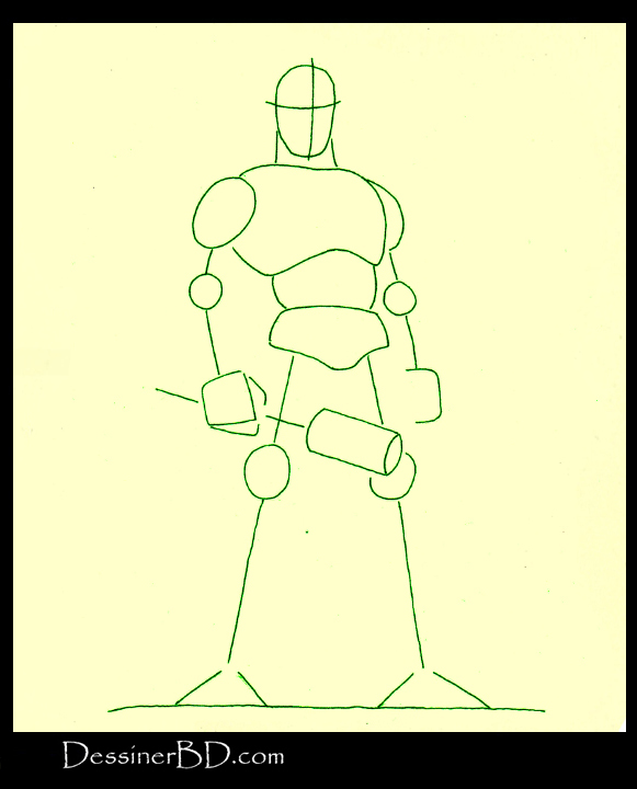 comment dessiner formes cyclope mythologie