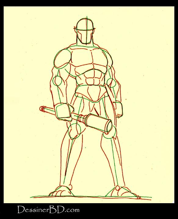 comment dessiner anatomie cyclope mythologie