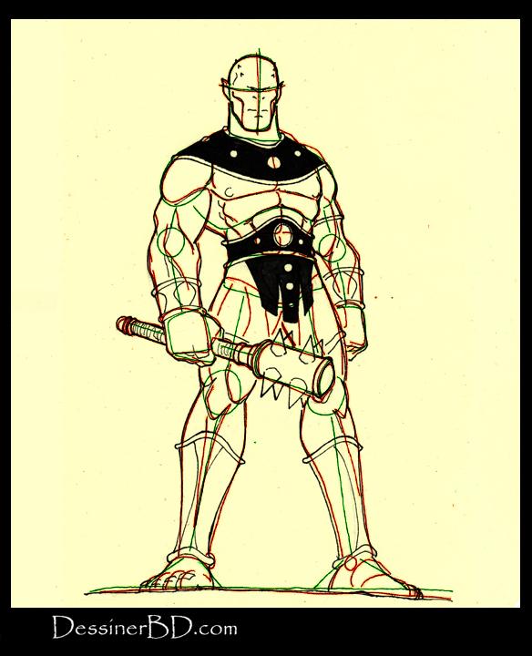 comment dessiner détails cyclope mythologie