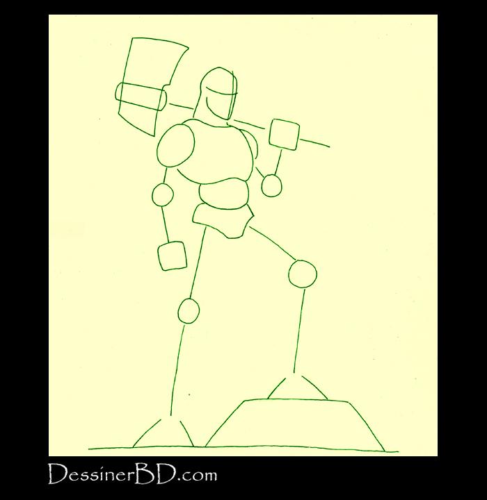 comment dessiner formes cyclope B