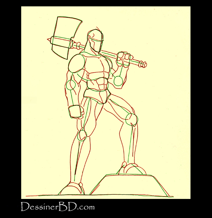 comment dessiner muscles anatomie cyclope B