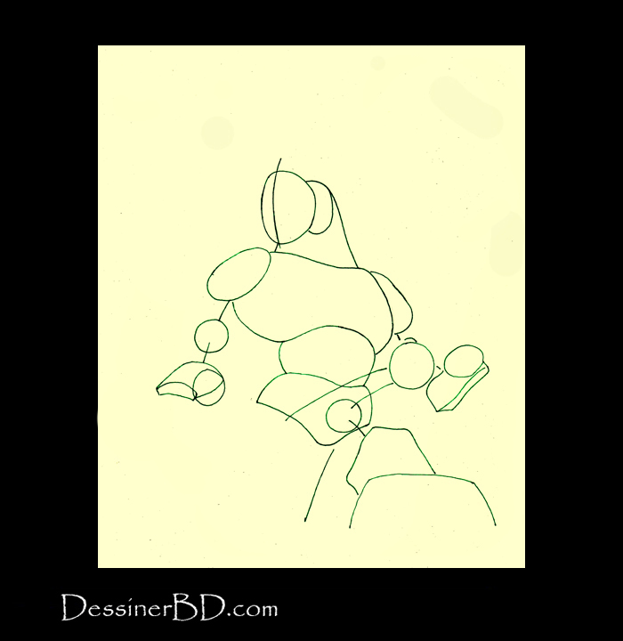 comment dessiner formes loup-garou b