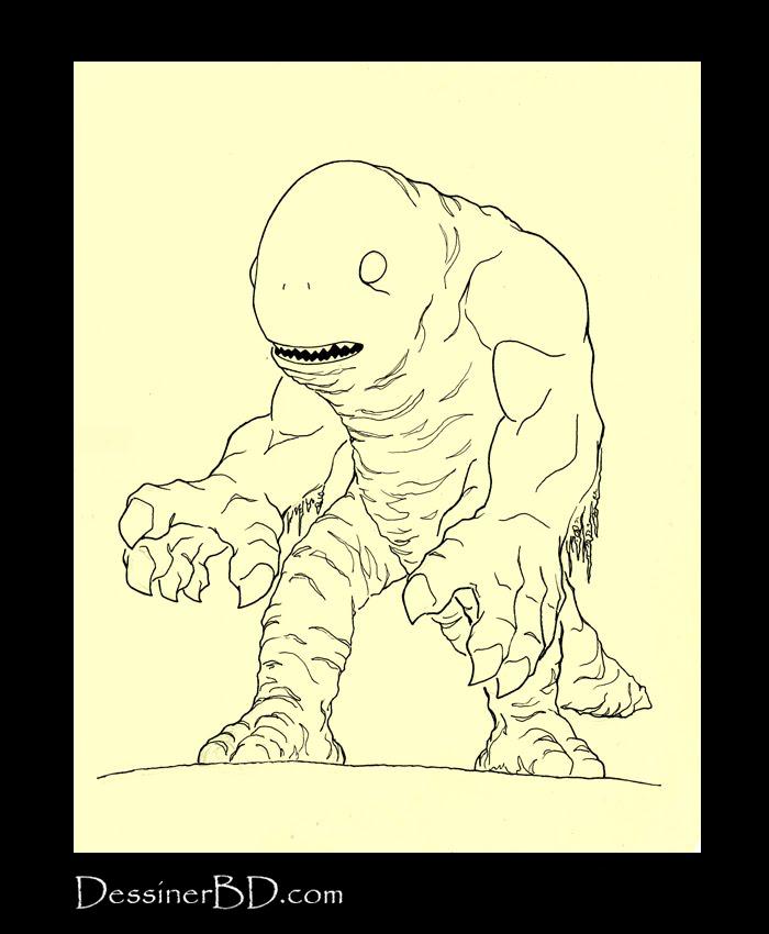 encrer monstre des marais