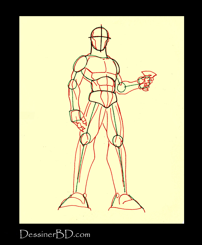 comment dessiner un vampire muscles anatomie