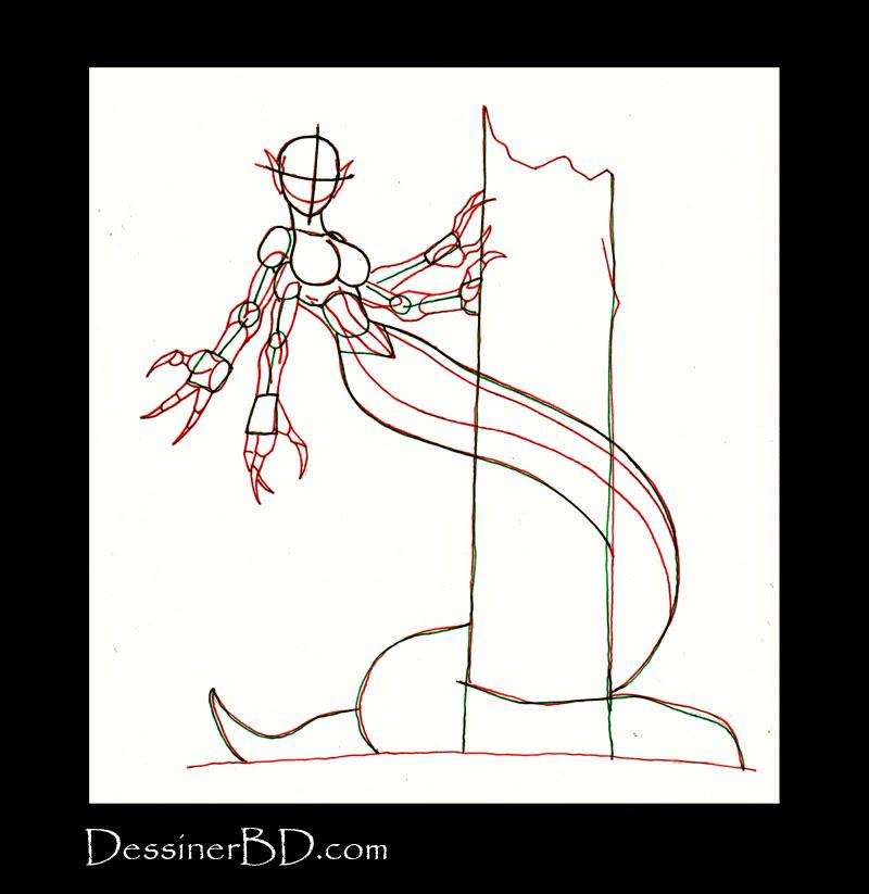 apprendre à dessiner anatomie naga